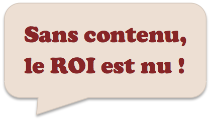 Présence web : du contenu en continu !